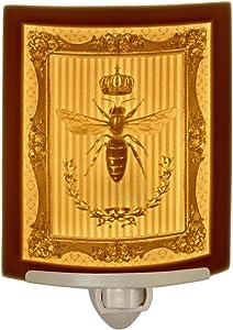 Queen Bee - Curved Porcelain Lithophane Nightlight