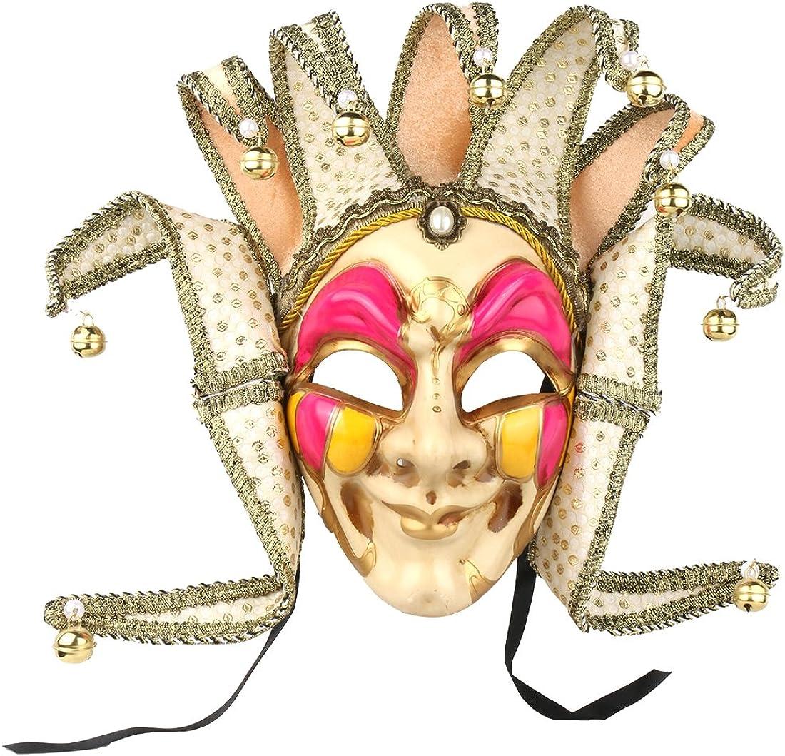 Jester Venetian Mask Masquerade Mardi Gras Wall Decorative Art Collection