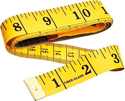 ZKHONG Dual Sided Body Measuring Ruler Sewing Cloth Tailor Tape Soft Tape 60inch//150cm