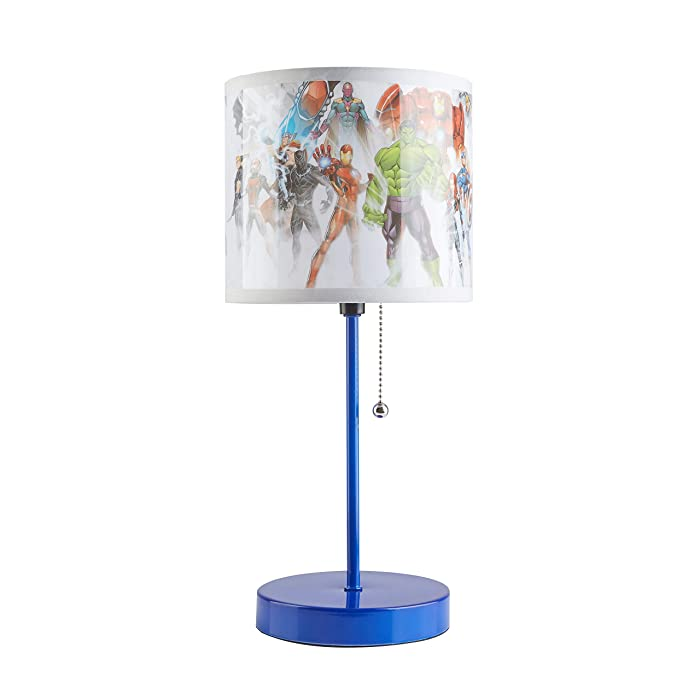 Marvel Avengers Stick Lamp, Blue