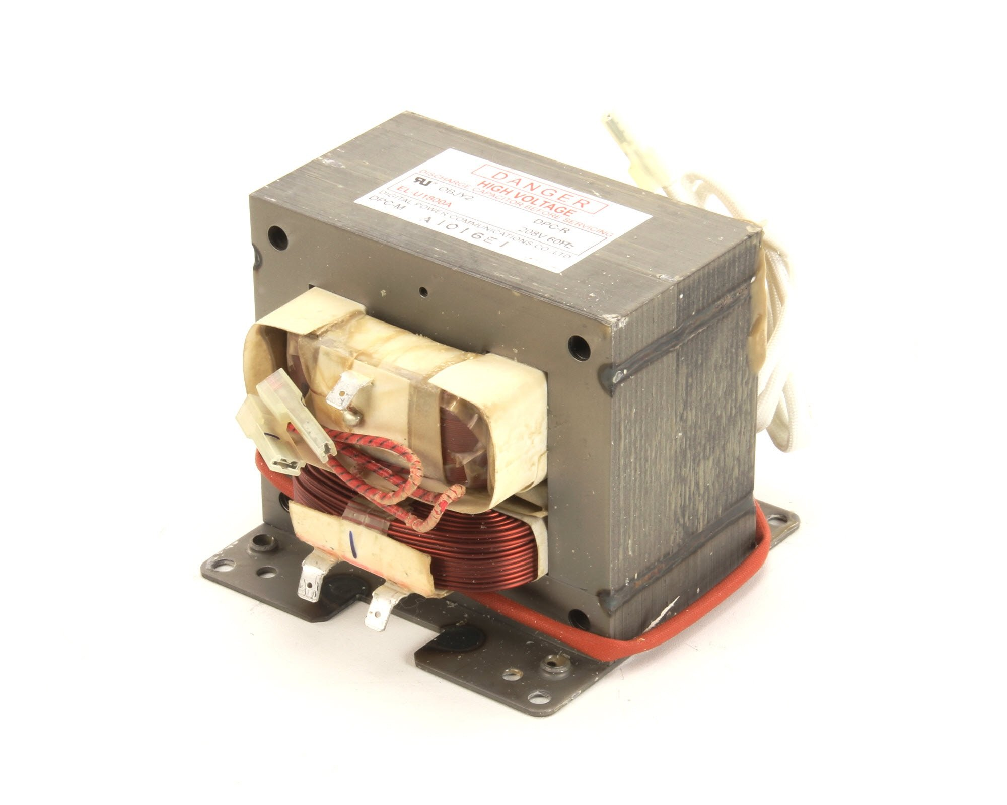 Electrolux 0D6858 208 Volt Emb Hspp Ki Transformer