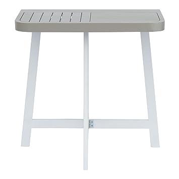 Youk Demi table pliante pour balcon grise Gris - Alinea 70.0 ...