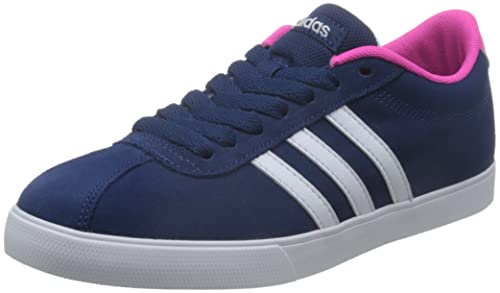 the best attitude a3795 725a1 adidas Courtset W, Scarpe da Ginnastica Donna, Blu (Azumis Ftwbla Rosimp