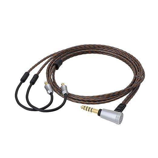 オーディオテクニカ ヘッドホンリケーブル(1.2m)【A2DCコネクタ⇔4.4mm5極バランス】audio-technica HDC314A/1.2