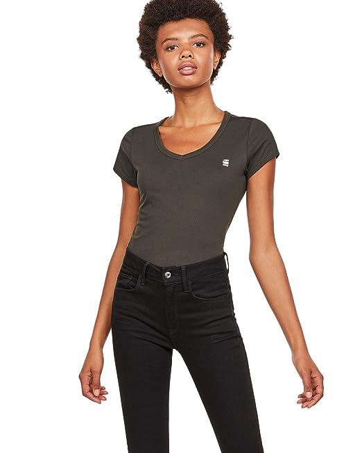 online store bffe3 f20f9 G-STAR RAW Damen Eyben Slim Top