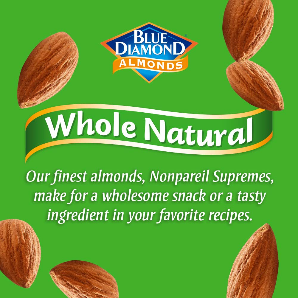 Blue Diamond Almonds, Raw  Whole Natural, 25 Ounce by Blue Diamond Almonds (Image #3)