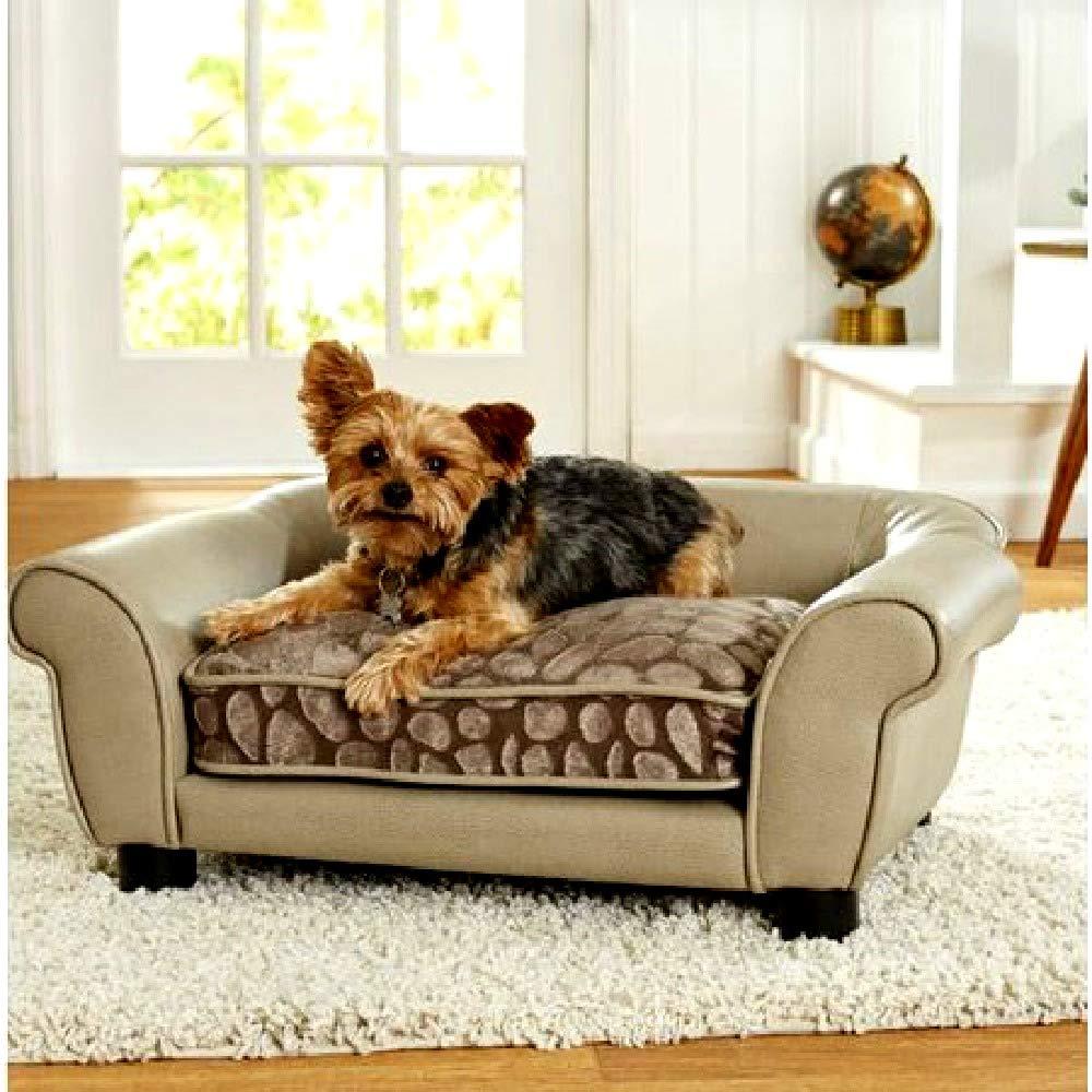 Amazon.com: Sofá cama para perros pequeños elevación hecha ...