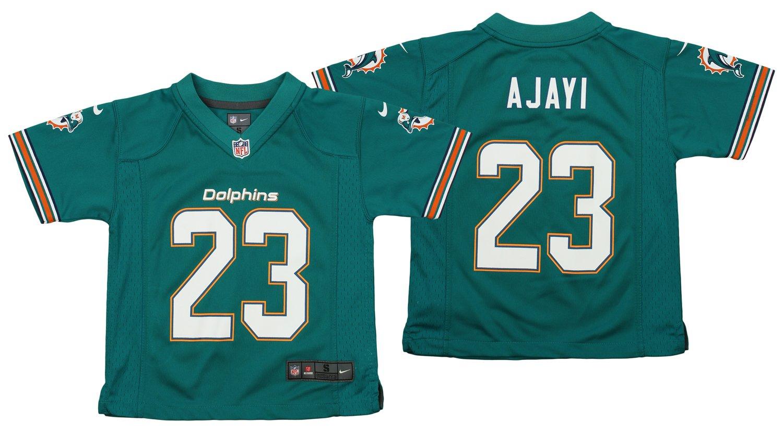 Nike NFL Kid 's Miami Dolphins Jay Ajayi # 23 Aqua Game Jersey Medium (5/6)  B07DFQLGHP