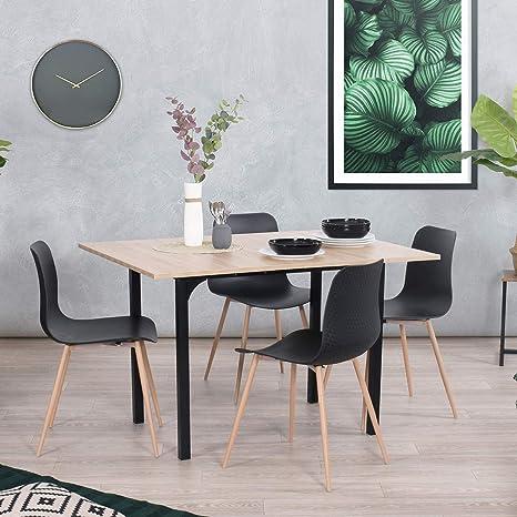 Amazon.com: Mesa de comedor multiusos, escritorio de oficina ...