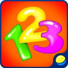 Aprendendo números para bebês - divertido jogo didático didático para crianças pequenas para aprender números de 1 a 9 em várias línguas, contando e treinando habilidades motoras finas, memória, atenção, curiosidade, intelecto