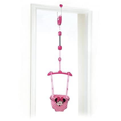 Winnie The Pooh - Saltador disney baby minnie mouse rosa