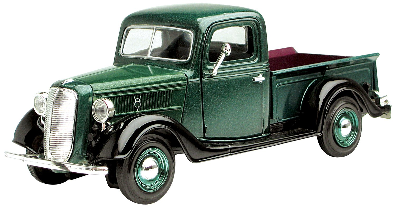 Motormax Wholesale 1937 Ford Pickup Truck Green 1 24 1948 Grain Diecast Car Model Toys Games