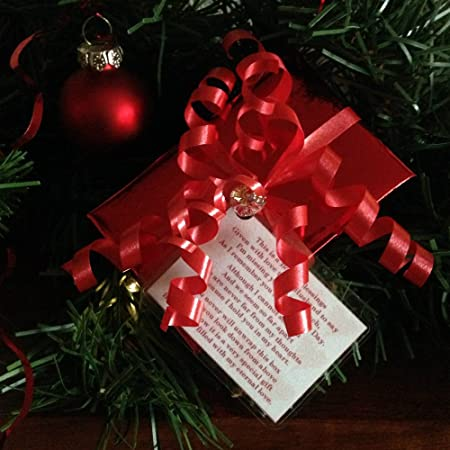 a box of eternal love in memory of my husband at christmas memorial gift tree decoration - What To Buy My Husband For Christmas