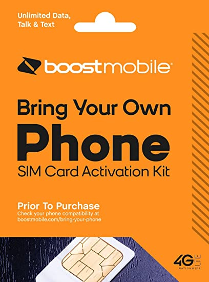 Amazon Com Boost Mobile Bring Your Own Device Byod Sim Card Kit