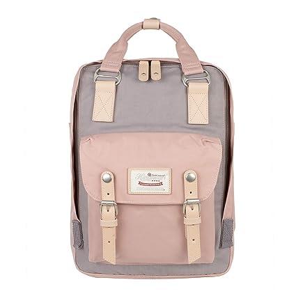 """Himawari Mochila Impermeable 14.9"""" Colegio Vintage Bolsa de Viaje para Mujer,13inch Laptop para"""