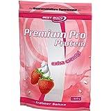 Best Body Nutrition Premium Pro Protein Erdbeer-Sahne , 1er Pack (1 x 500 g Beutel)