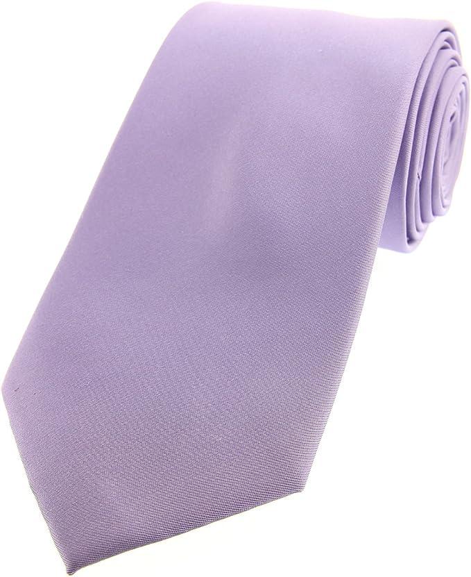 Soprano luz Lila satinado seda corbata: Amazon.es: Ropa y accesorios