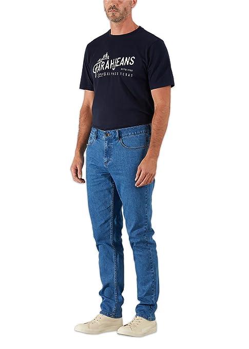 Farah Jeans Fiveash Slim Stretch Denim Jeans Denim Blue