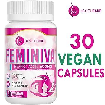 Boric acid capsules for recurrent vaginal infections
