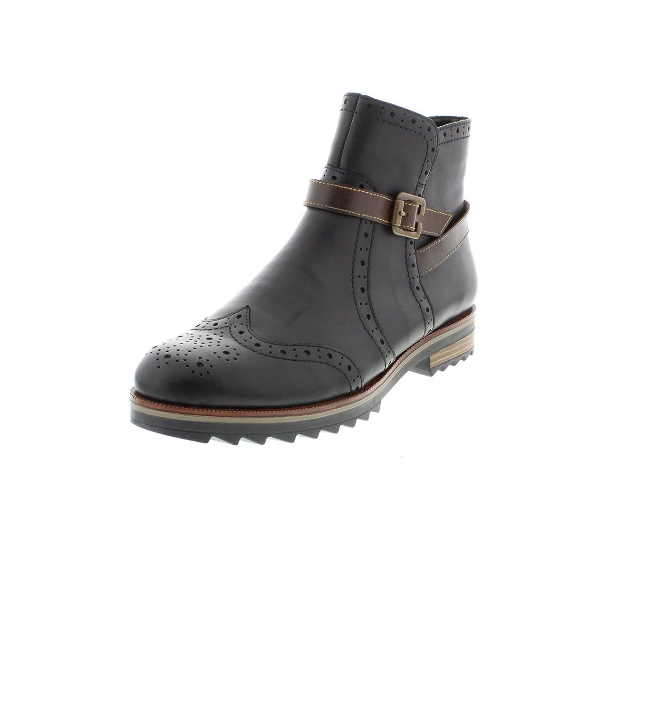 SchwarzKastanie   01 Remonte - Damen Stiefel - Rot Schuhe in Übergrößen