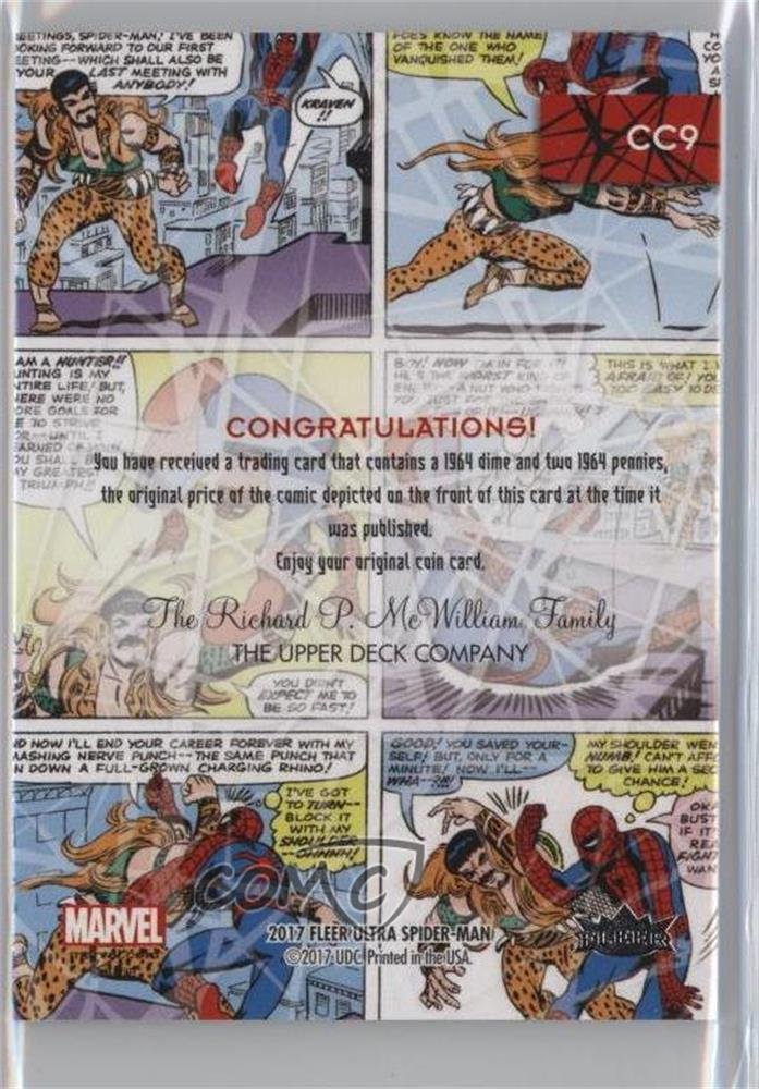 Amazing Spider-Man #15 (Trading Card) 2017 Fleer Ultra Spider-Man - Coin Cards #CC9 at Amazons Entertainment Collectibles Store