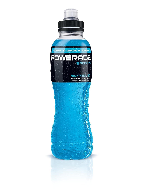 Powerade Sports Mountain Blast/Iso Drink mit Elektrolyten - als ...
