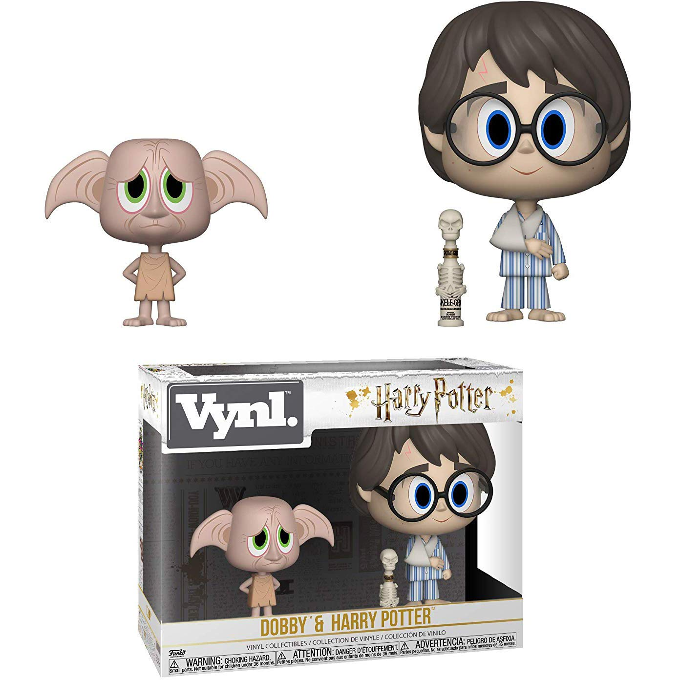 Vinyl Figure Set 1 Official Harry Potter Trading Card Bundle Funko Dobby /& Harry Potter: Harry Potter x Vynl BCC940J96 31001