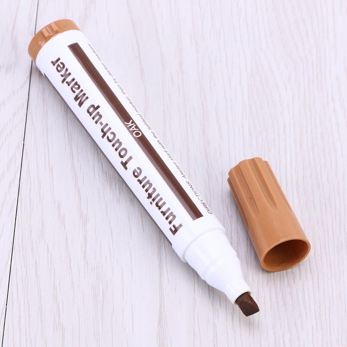 OUNONA 12 in 1 M/öbelset aus Holz zur Reparatur von Kratzern Lackmarker f/ür Indossati Pastellstifte Set von Furniture Repair System