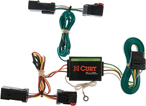 Amazon.com: CURT 55382 Vehicle-Side Custom 4-Pin Trailer Wiring Harness for  Select Jeep Liberty: Automotive  Amazon.com