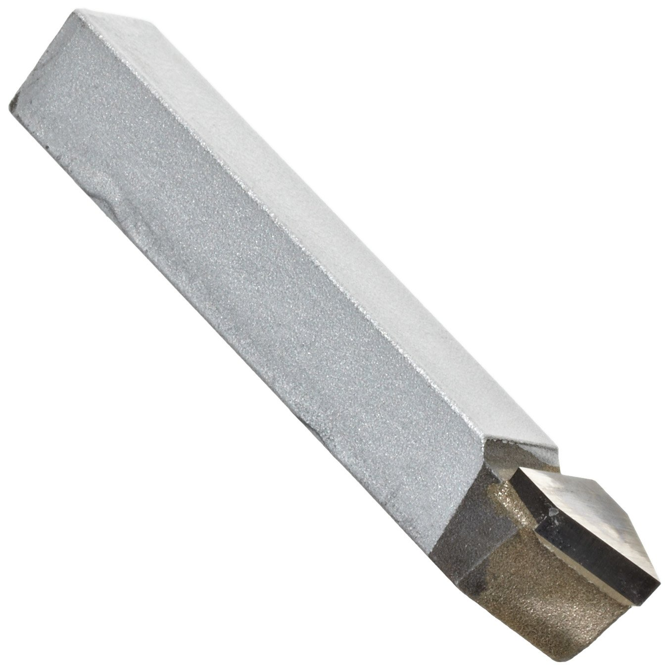 American Carbide Tool Carbide-Tipped Tool Bit for Threading, Neutral, Micrograin Grade, 0.375' Square Shank, E 6 Size 0.375 Square Shank E-6 MICROGRAIN