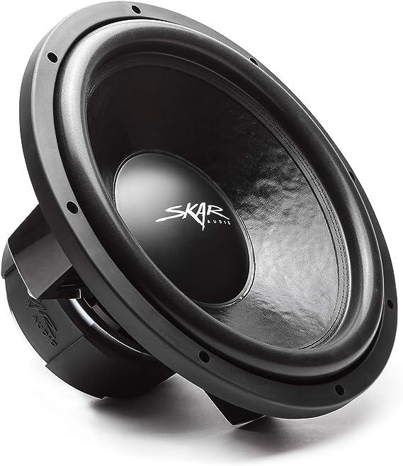 "Skar Audio DDX-15 D2 15"" 1500 Watt Max Power Dual 2 Ohm Car Subwoofer"