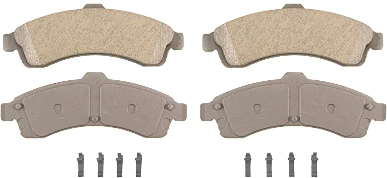 Disc Brake Pad Set-ThermoQuiet Disc Brake Pad Front Wagner QC799