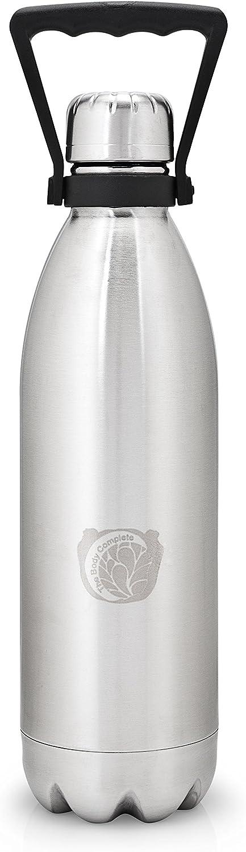 Stainless Steel Insulated Reusable Bottle - 1000ml (34 oz.) - Green