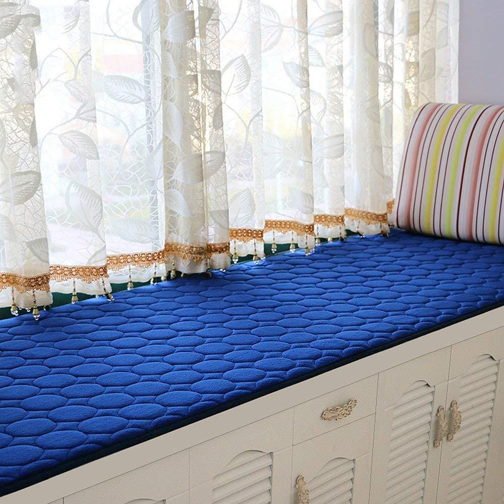 FEI Colchonetas de péndulo Modernas Simples Colchonetas de Ventana Balcón de Esponja de Verano Colchones Cubo Flotante, Multi-Tamaño,80 * 200 cm Multi-Tamaño