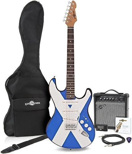 Guitarra Eléctrica LA + Pack de Ampli de 15W - Escocia: Amazon.es ...