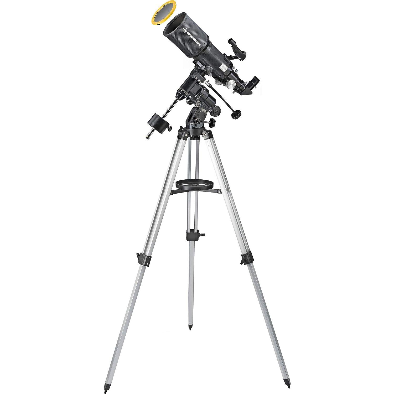 Bresser Teleskop Polaris 102//460 EQ3 f/ür Nacht und Sonne mit hochwertigem Objektiv Sonnenfilter zur gefahrlosen Beobachtung der Sonne im Weisslicht