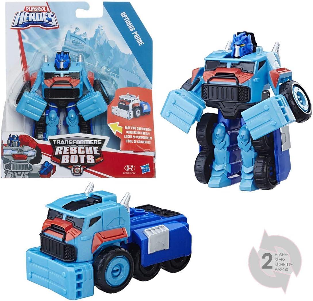 Playskool Heroes C3325EL2 Transformers Rescue Bots Optimus Prime: Amazon.es: Juguetes y juegos