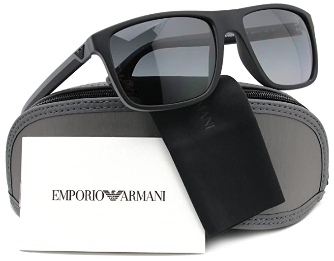 fa28fe9440 Image Unavailable. Image not available for. Colour  Emporio Armani EA4033  Polarized Sunglasses ...