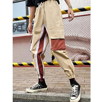 CKBYTH Pantalones Pantalones De Chándal Pantalón Cargo Negro Mujer ...