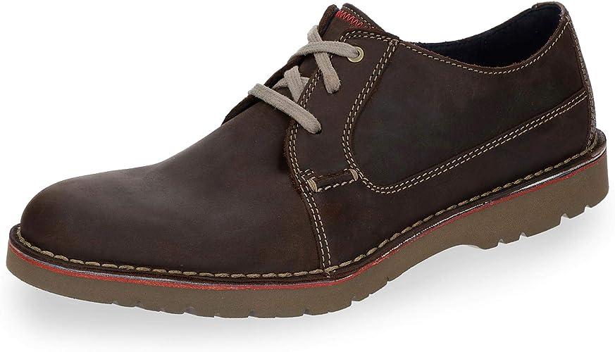 Clarks Vargo Plain, Zapatos de Cordones Derby para Hombre