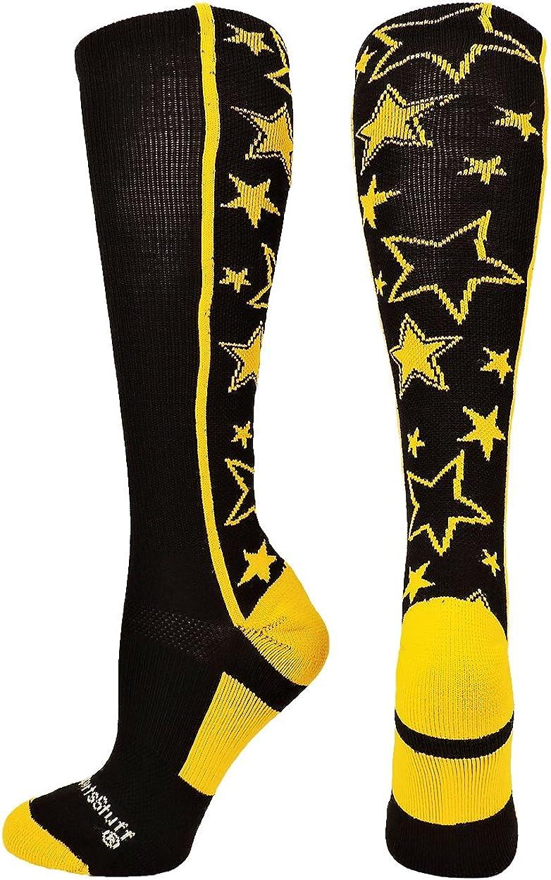 MadSportsStuff Love Soccer Hearts Socks Over The Calf