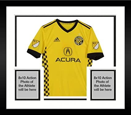 sneakers for cheap b1b31 4c2c1 Framed Artur Columbus Crew SC Autographed Match-Used Yellow ...