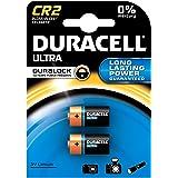 4 x Duracell Ultra CR2 3 V batería de litio para fotografías con varios bolsillos - DLCR2 - EL1CR2 - CR15H270