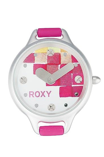Roxy W201BS/APNK - Reloj analógico de mujer de cuarzo con correa rosa - sumergible a 50 metros: Amazon.es: Relojes
