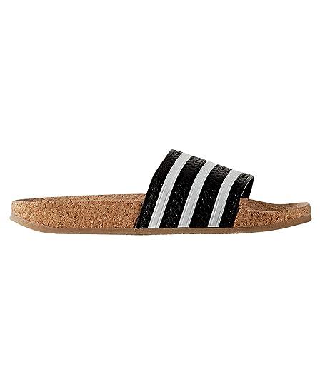 Buy Adidas ORIGINALS Women's Adilette Cork W Cblack, Ftwwht ...