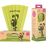 Earth Rated Dog Poop Bags, 300 Biodegradable Dog Waste Bags on a Large Single Roll, Guaranteed Leak-proof, Lavender-scented, Great for Backyard Pickups, Each Pooh Bag Measures 20 x 33 cm