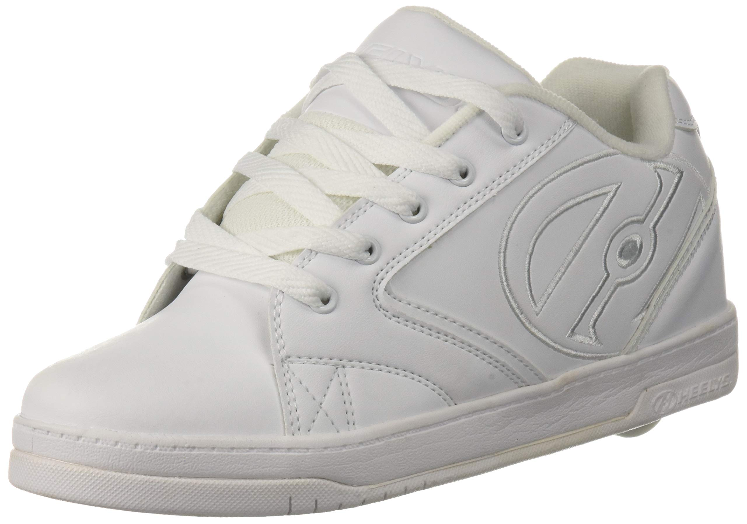 Heelys Unisex Propel 2.0 Tennis Shoe, White, 5 M US Big Kid