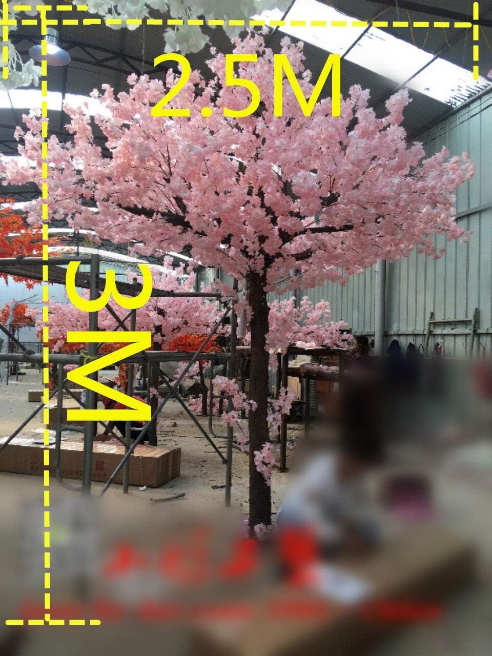 Cerisier Arbre Artificiel,Simulation Faux Arbres 1.6M D/écoration De La Maison Faux Arbres Plantes Souhaitant L/'Arbre P/êcher Salon Salon Int/érieur Et Ext/érieur H/ôtel D/écorant Arbres