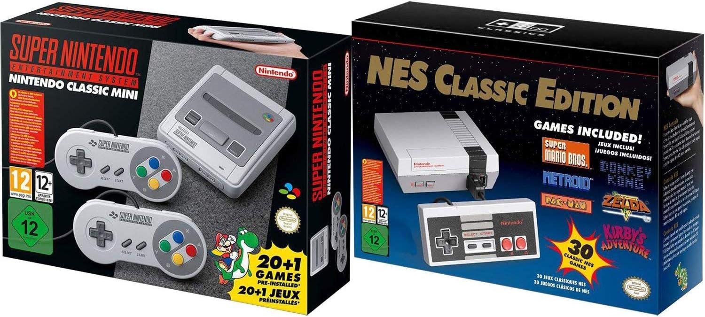 Amazon Com Snes And Nes Nintendo Entertainment System Classic