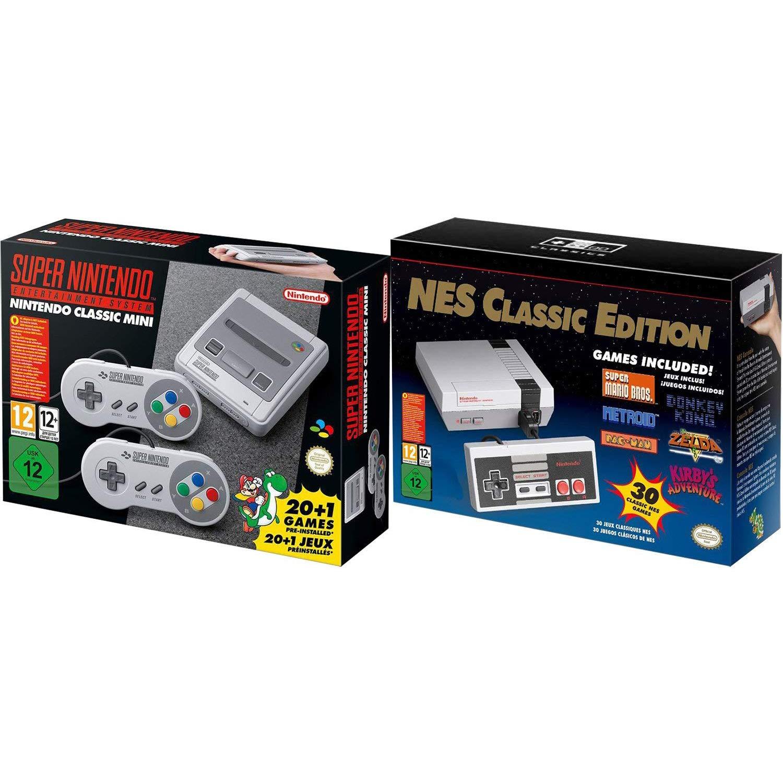 SNES and NES Nintendo Entertainment System Classic Bundle Region Free by Nintendo (Image #1)